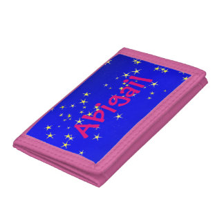 Twinkle Little Star by The Happy Juul Company Trifold Wallets