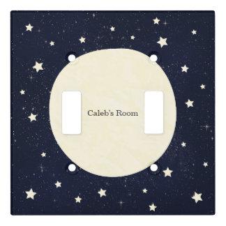 Twinkle Little Star Starry Sky Celestial Light Switch Cover