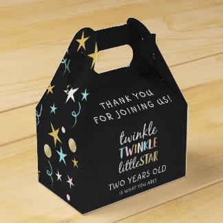 Twinkle Little Star Two Years Old Is What You Are! Favor Box