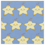twinkle little yellow baby star nursery fabric