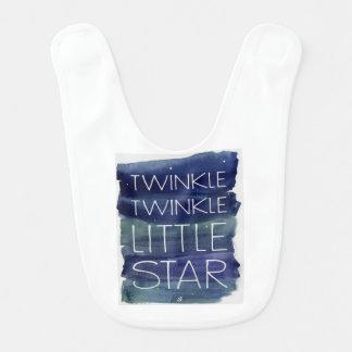 Twinkle Twinkle Bib
