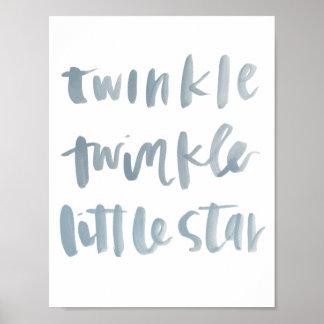 Twinkle, Twinkle Little Star Art Print