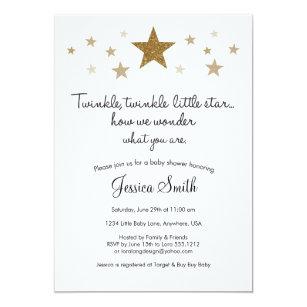twinkle little star invitations announcements zazzle ca