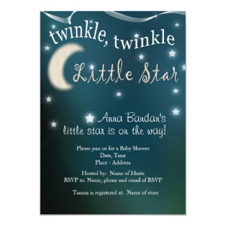 Twinkle, twinkle, little star card