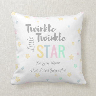 Twinkle Twinkle Little Star - Custom Baby Pillow