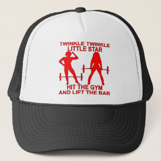 Twinkle Twinkle Little Star Hit The Gym And Lift Trucker Hat