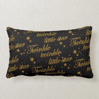 Twinkle, Twinkle Little Star Pattern Lumbar Pillow
