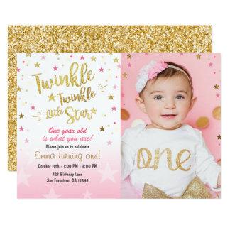 Twinkle Little Star Invitations Announcements Zazzle Canada