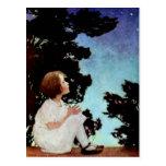 """""""Twinkle, Twinkle Little Star"""" Postcard"""