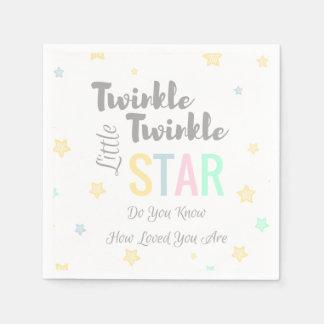 Twinkle Twinkle Little Star Theme - Paper Napkins