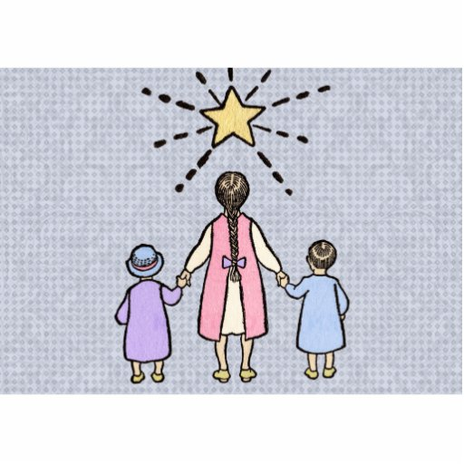 Twinkle, Twinkle Little Star Vintage Nursery Rhyme Photo Cutouts