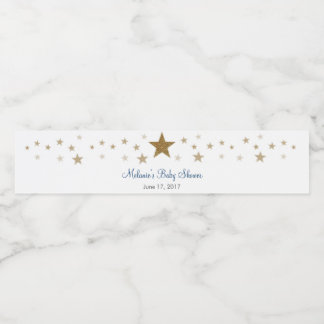 Twinkle Twinkle Little Star Water Bottle Labels
