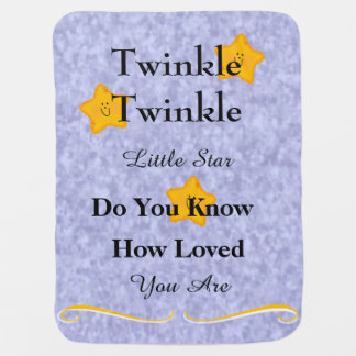 Twinkle Twinkle Little Start Baby Blanket