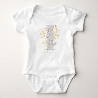 Twinkle twinkle my little star baby bodysuit