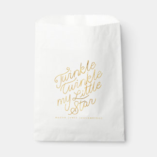 Twinkle twinkle my little star favour bag