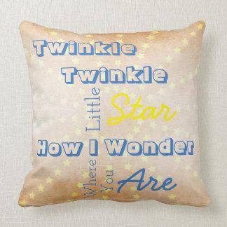 Twinkle Twinkle Reversible Throw Pillow