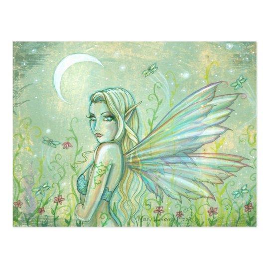 Twinkling Night Fairy Postcard