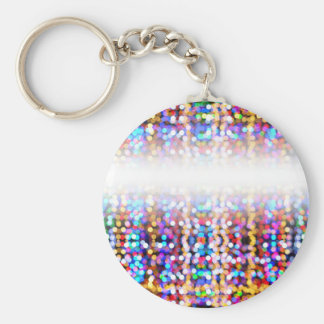 TwinklylightsFaded Basic Round Button Keychain