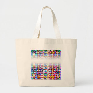 TwinklylightsFaded Large Tote Bag