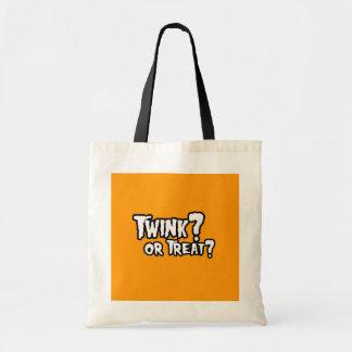 TWINNK OR TREAT - Halloween - png Tote Bag