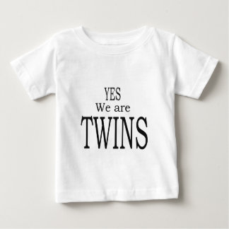 Twins Baby T-Shirt