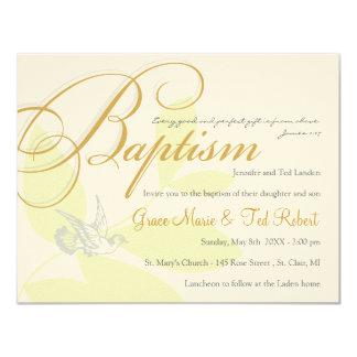 Twins Baptism Invitation