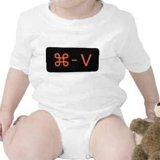 Twins Black/Orange Command - V 'Paste' Shirt