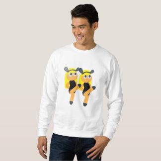 twins emoji mens sweatshirt