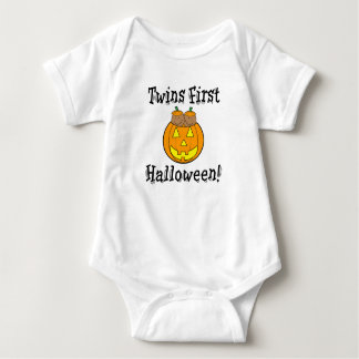Twins First Halloween Baby Bodysuit