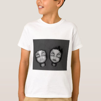 TWINS OF TERROR HAUNTED DOLLY DESIGN T-Shirt