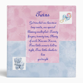 Twins Photo Album Binder