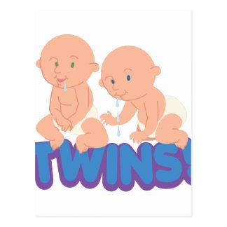 Twins! Postcard