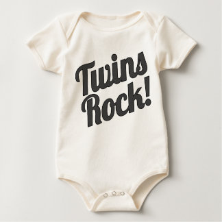 Twins Rock! Romper