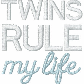 TWINS RULE my life Embroidered Jacket