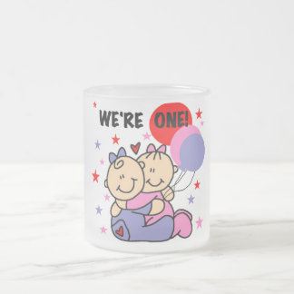 Twins We're One Birthday Tshirts and Gifts Mugs