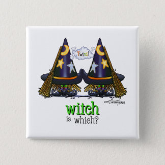 Twins - Which Witch button