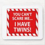 TwinsScareMousepad Mousepads