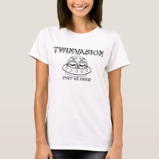 """TWINVASION """"They're Here!"""" T-Shirt"""