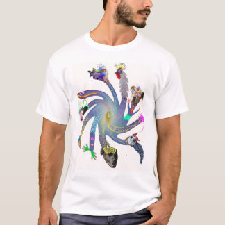 Twirl flower T-Shirt