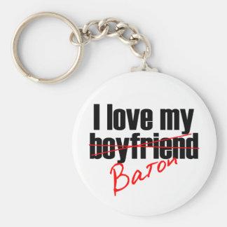 Twirl : I love my Baton Keychain