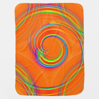 Twirl Receiving Blankets