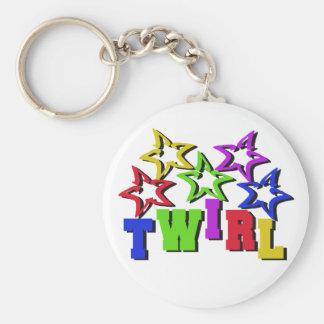 Twirl Stars Keychain