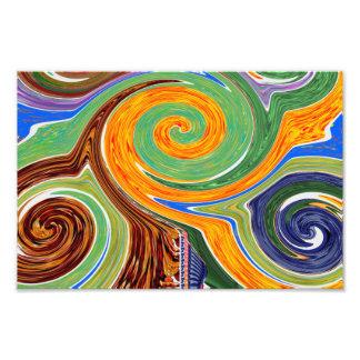 Twirl Tornado Waves Seasons Graphics GIFTS share Photographic Print