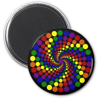 Twirling Color Wheel Magnet