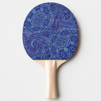 Twirling On Ice Ping Pong Paddle