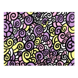 Twirls Postcard