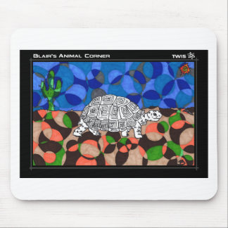 TWIS Blair's Animal Corner Tortoise Mouse Pad