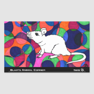 TWIS Sticker: Blair's Animal Corner Rat