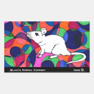 TWIS Sticker: Blair's Animal Corner Rat Sticker