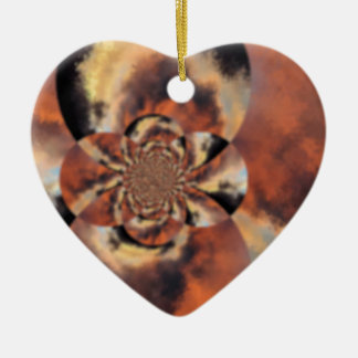 twist1 ceramic ornament